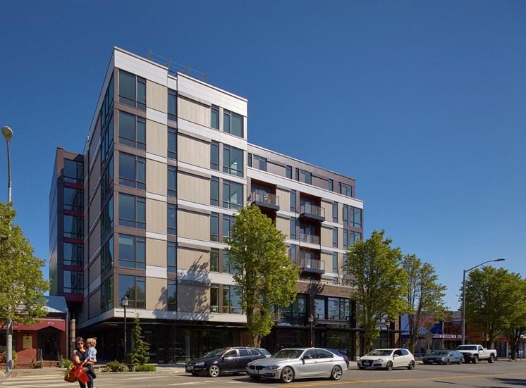 4730 California Apartments Building Exterior