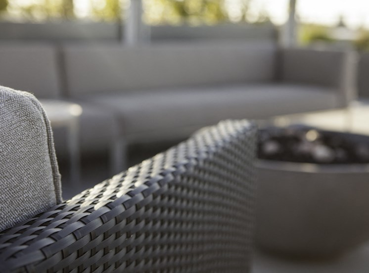 Rooftop Fire Pit Seating