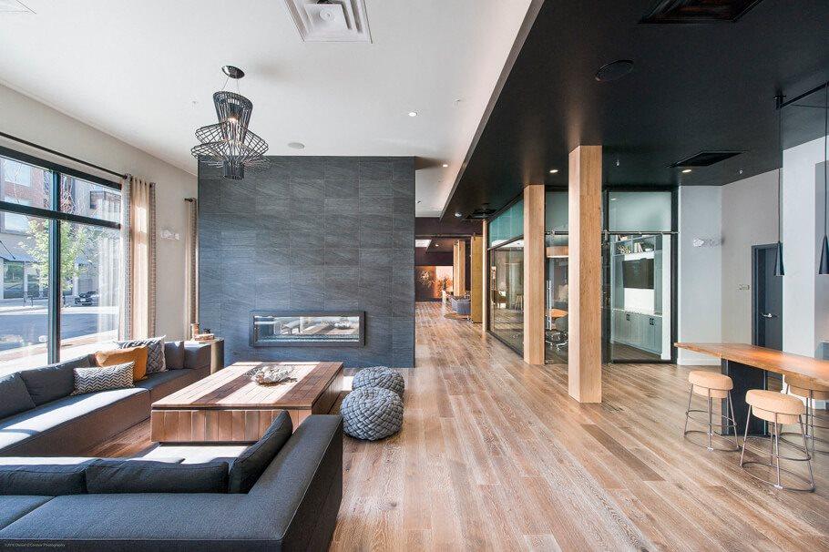 Gunbarrel Center  Fireplace Lounge