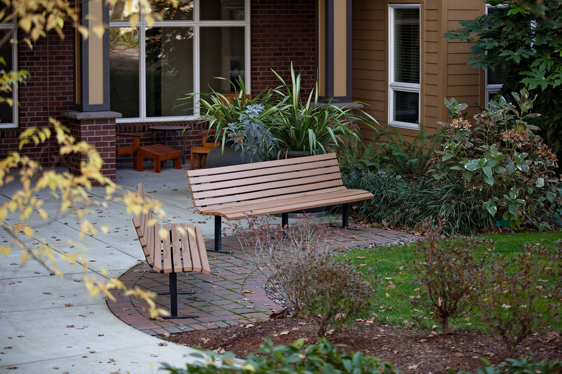 Portera at the Grove_Wilsonville  Seating areas