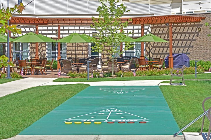 Outdoor Games at Rose Senior Living – Avon, Avon, 44011