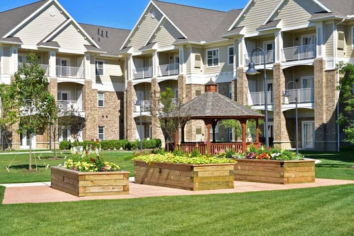 Garden Gazebo at Rose Senior Living – Avon, Avon, OH