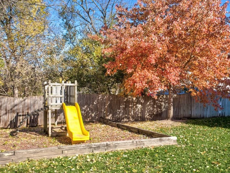 Outdoor picture of playground