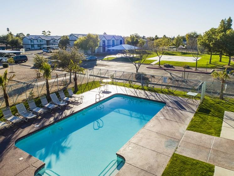The Landmark Coolidge pool