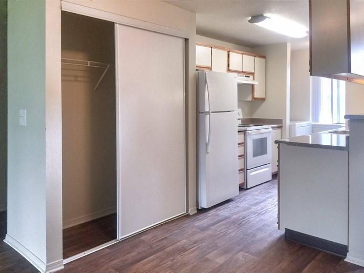 Center Plaza Kitchen and Storage Closet