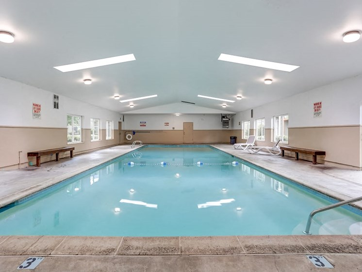 Indoor Pool at Center Plaza