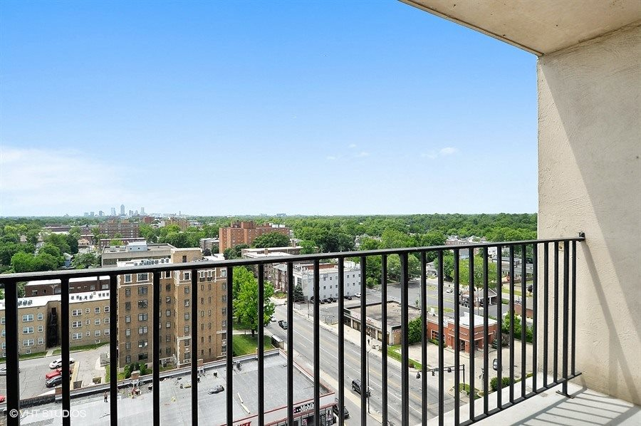 Expansive Private Balconies at CityView on Meridian, Indianapolis, IN,46208
