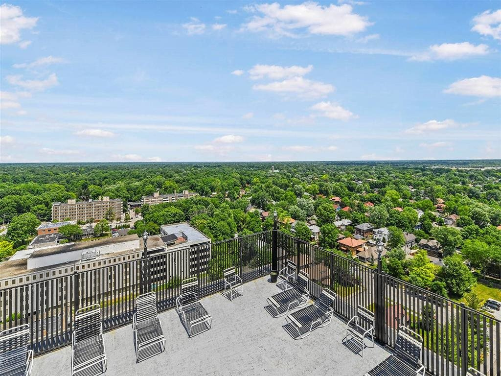 Rooftop Sundeck at CityView on Meridian, Indianapolis, IN
