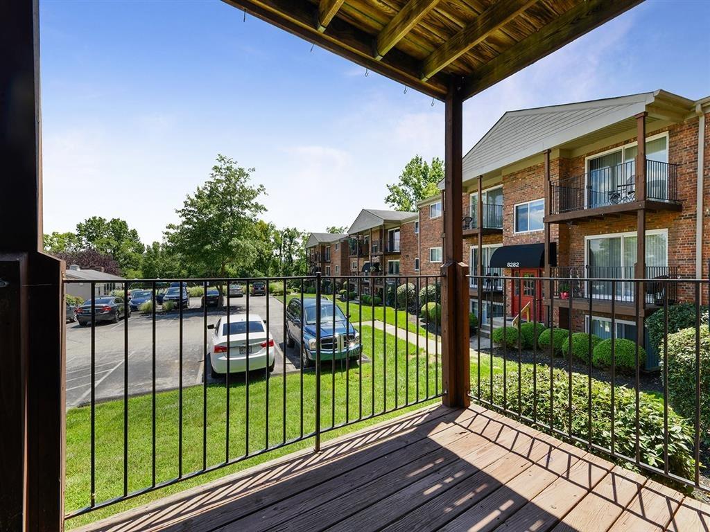 Patio/Balcony at Heritage Hill Estates Apartments, Cincinnati, Ohio