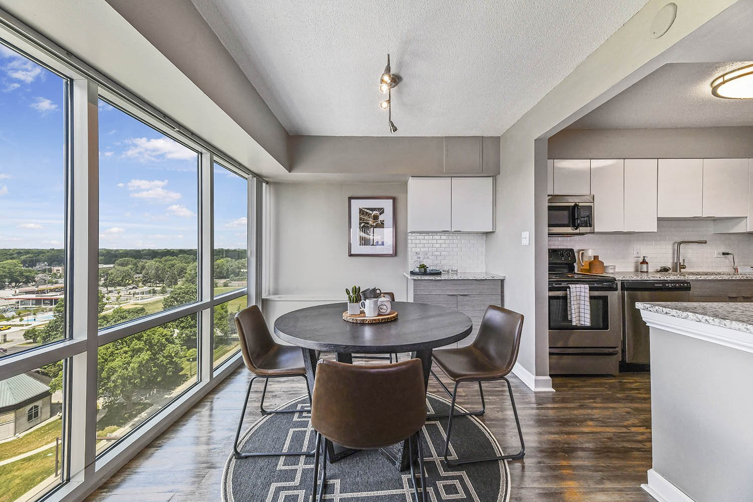 Separate Dining Area at CityView on Meridian, Indianapolis, 46208