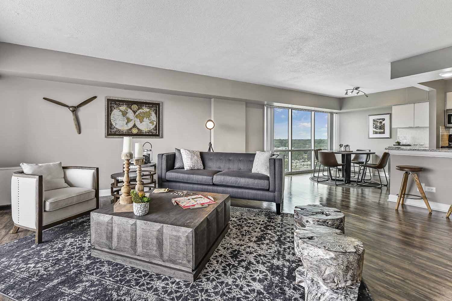 Redesigned Apartment Homes at CityView on Meridian, Indianapolis, 46208