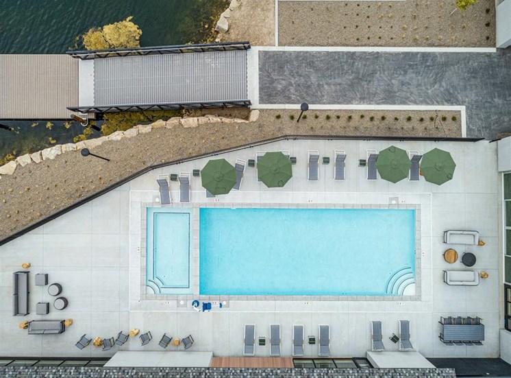 Apartment Pool Lakehouse in Eagle, Idaho