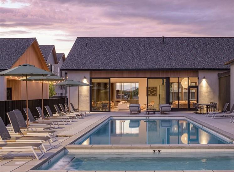 Lakehouse Pool   at The Clara, Eagle, ID