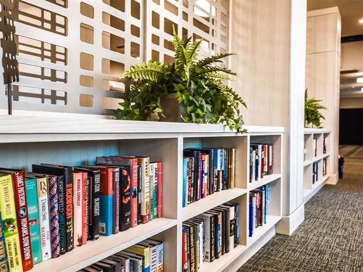 Library at Westmont of Milpitas, California, 95035