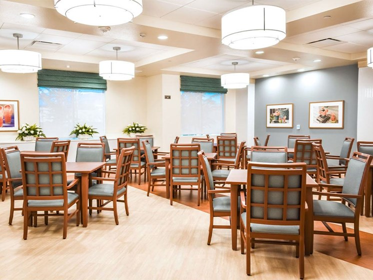 Dining Hall at Westmont of Milpitas, California