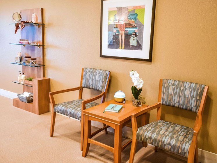 Reading Room at Westmont of Milpitas, California, 95035