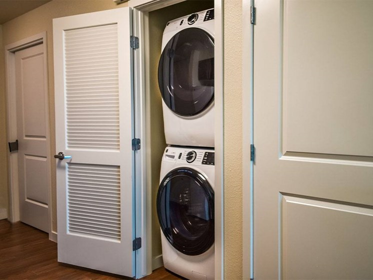 Washer And Dryer In Unit at Westmont of Milpitas, California, 95035