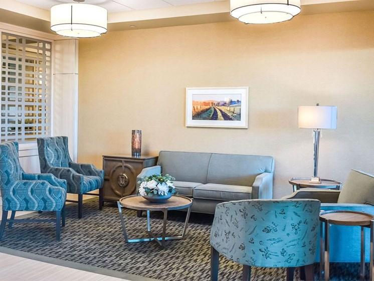 Modern Living Room at Westmont of Milpitas, Milpitas, CA