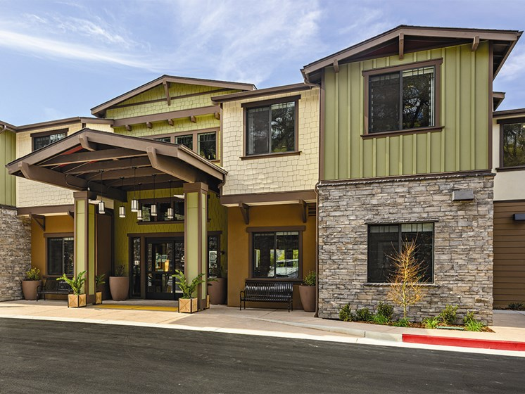 Buildings in the front area at The Oaks at Paso Robles, Paso Robles, CA, 93446