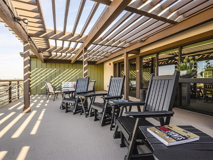 Sitting area at The Oaks at Paso Robles, California