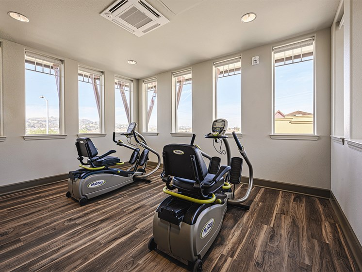 Gym area at The Oaks at Paso Robles, Paso Robles, CA
