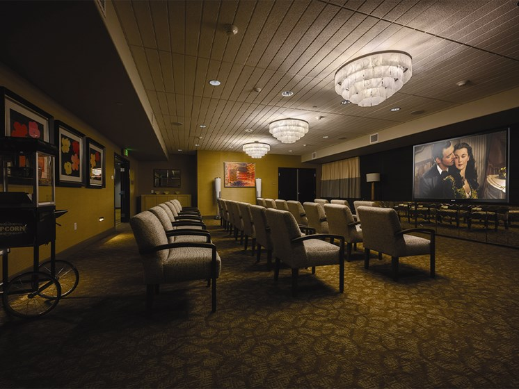 Movie Hall at The Oaks at Paso Robles, Paso Robles, California