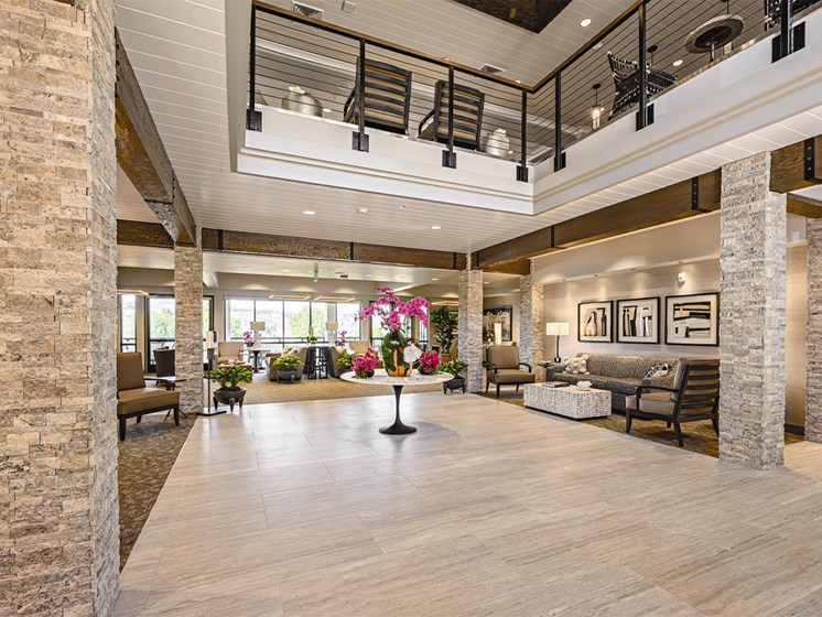 Full Area view in living room at The Oaks at Paso Robles, Paso Robles, CA, 93446