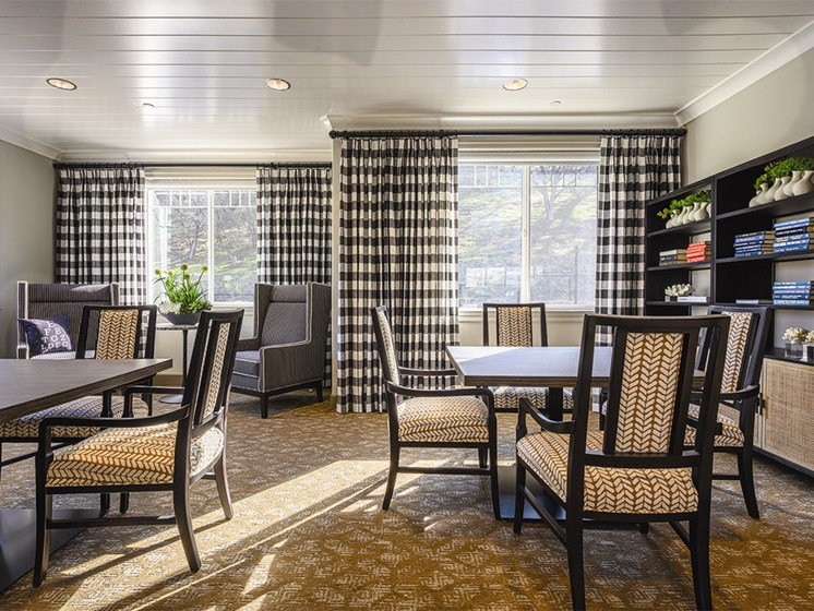 Dining area with 2 Windows at The Oaks at Paso Robles, Paso Robles, California