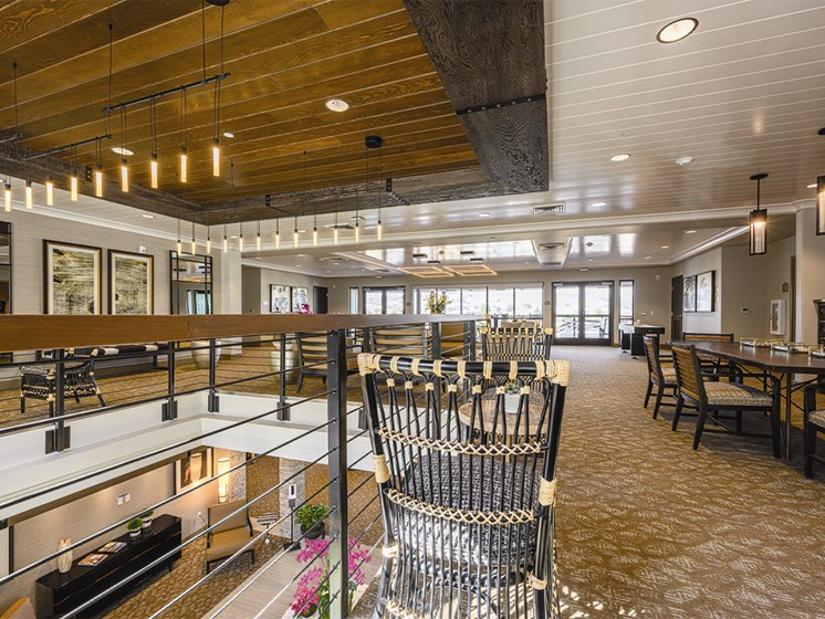 Dining area with beautiful interiors at The Oaks at Paso Robles, Paso Robles, 93446