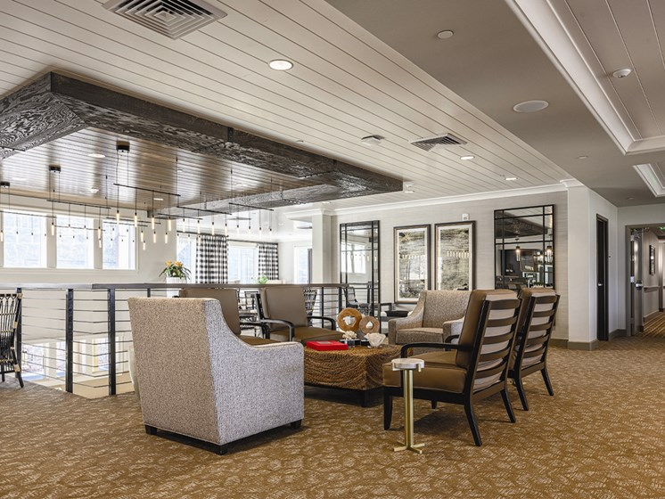 Dining Area at The Oaks at Paso Robles, California, 93446
