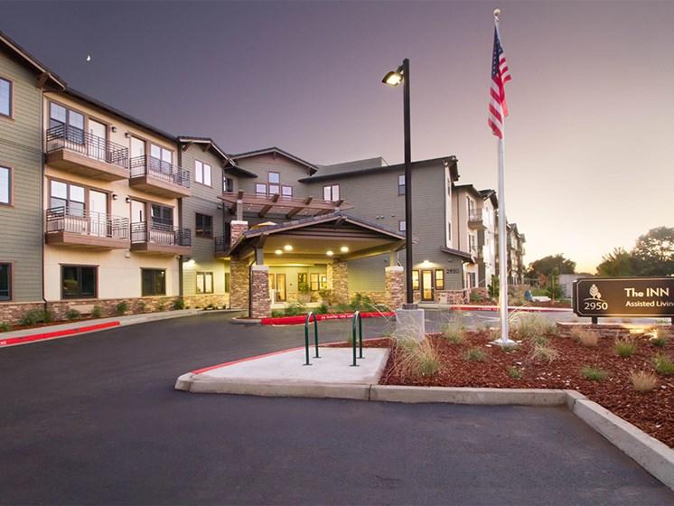 Elegant Exterior View at The Terraces, California, 95928