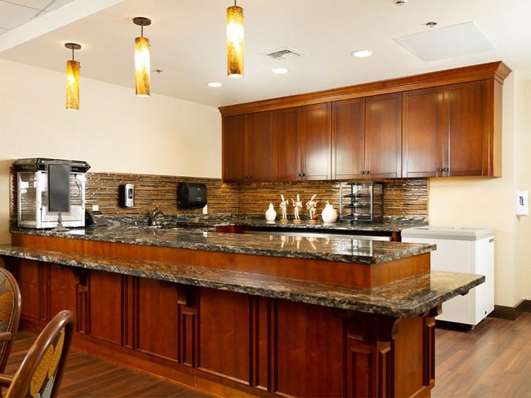 Granite Countertop Kitchen at The Terraces, Chico, California