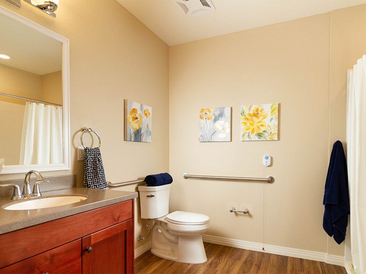 Luxurious Bathrooms at The Terraces, Chico, CA