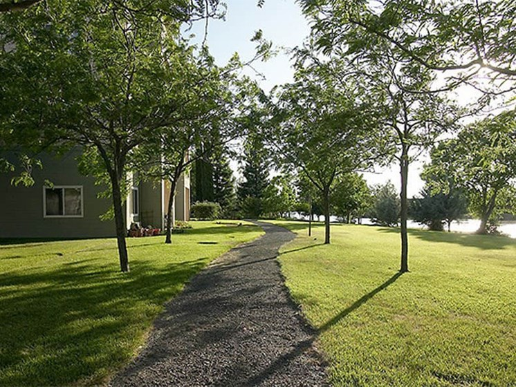 Green Space Walking Trails at The Terraces, Chico, CA, 95928