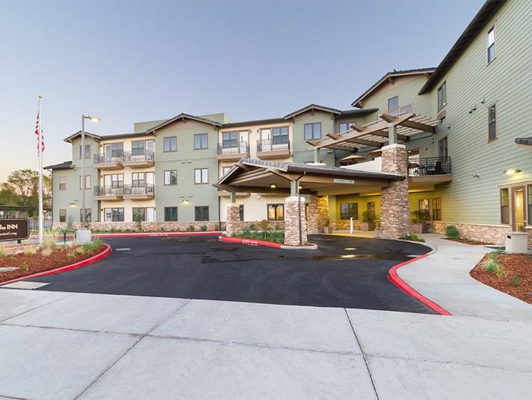 Elegant Exterior View Of Property at The Terraces, California