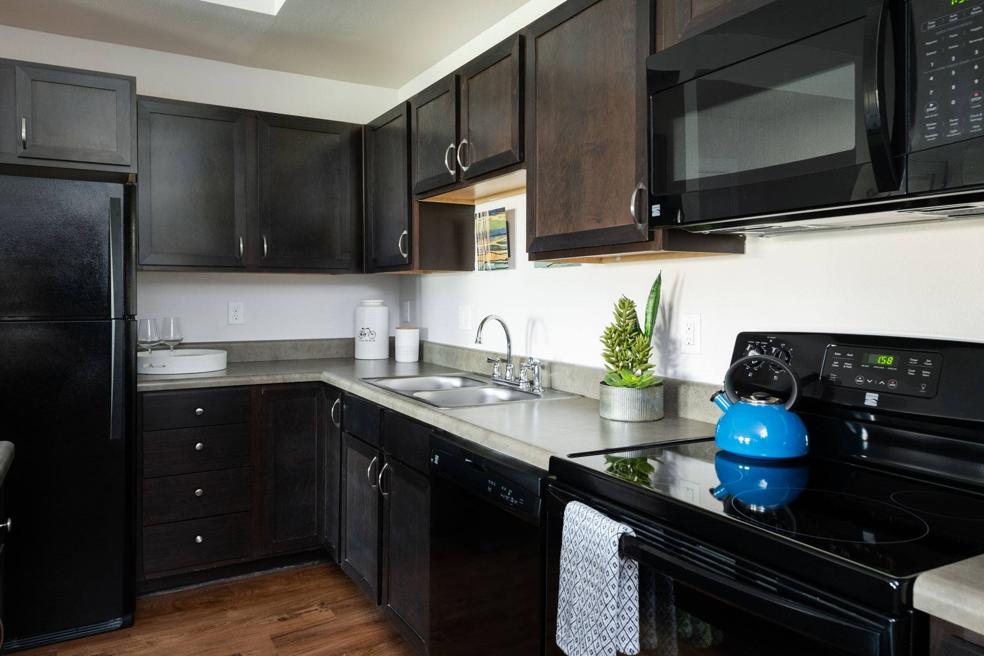 Well-Organized Kitchen at Arbour Commons, Westminster