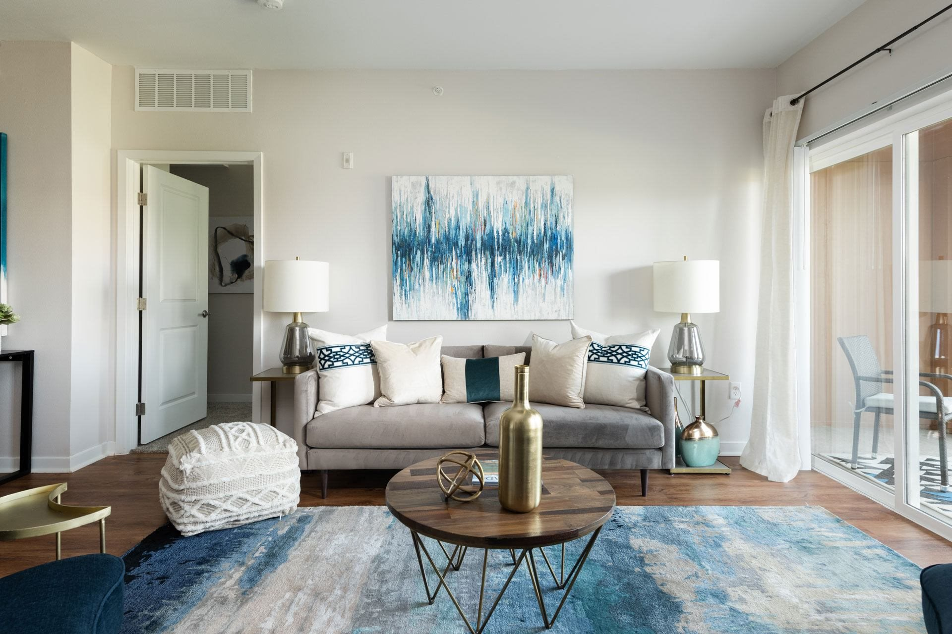 Stylish Living Room at Arbour Commons, Westminster, CO