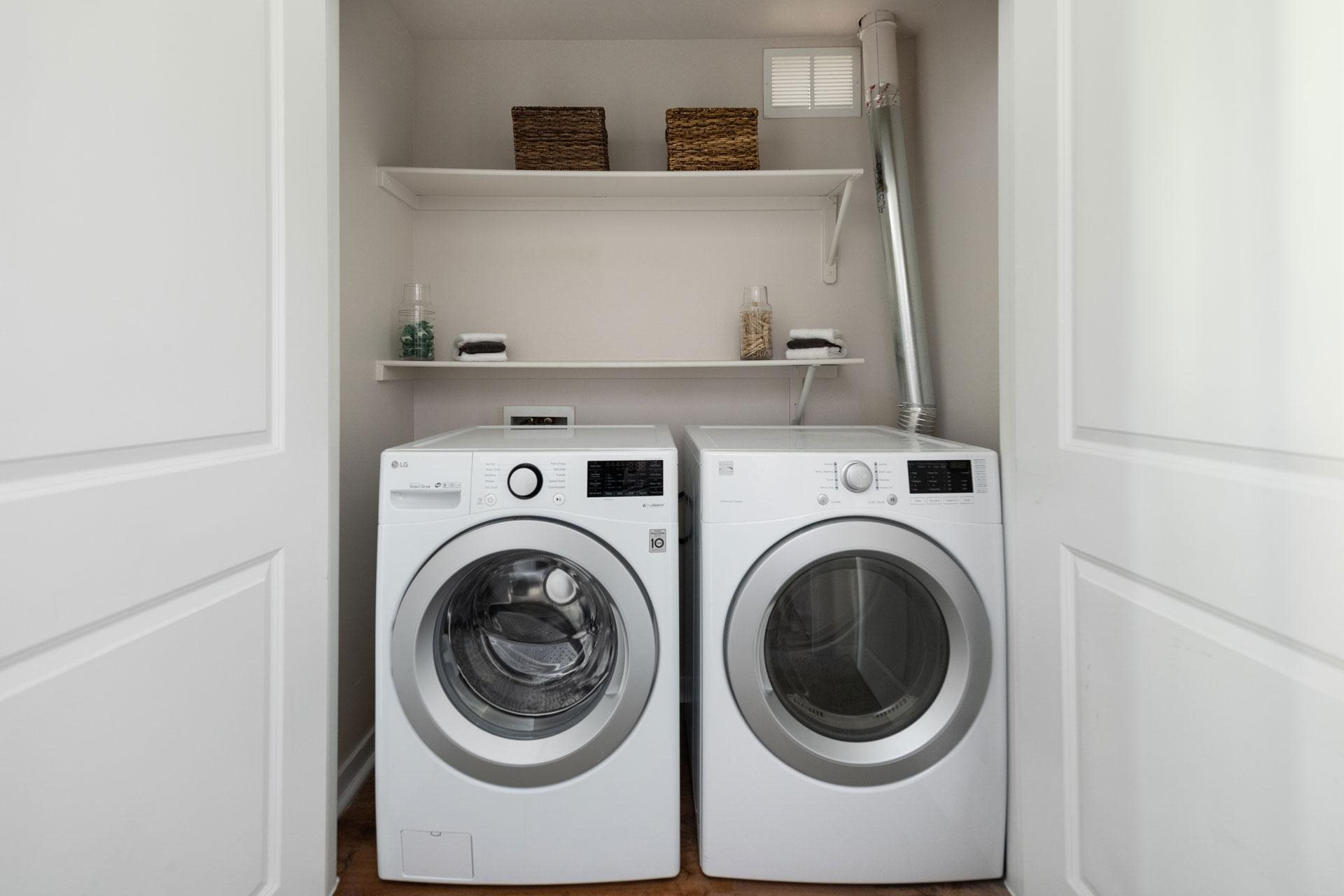 Washer and Dryer at Arbour Commons Apartments in Westminster, Colorado