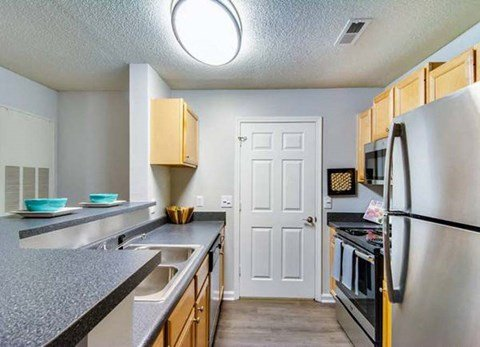 Fully Equipped Kitchen at Haven at Patterson Place, North Carolina, 27707