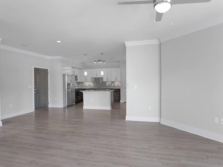 Brizo Living Room overlooking kitchen
