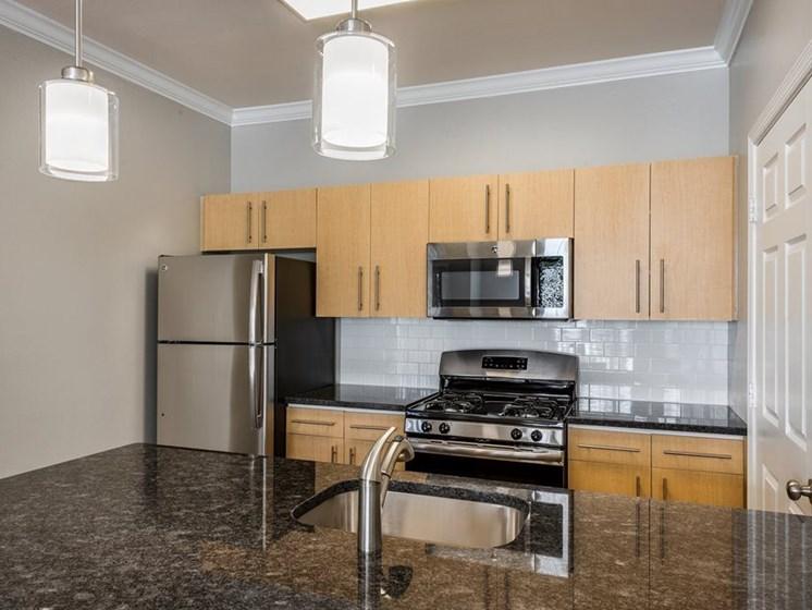 The Ashborough Apartment Kitchen