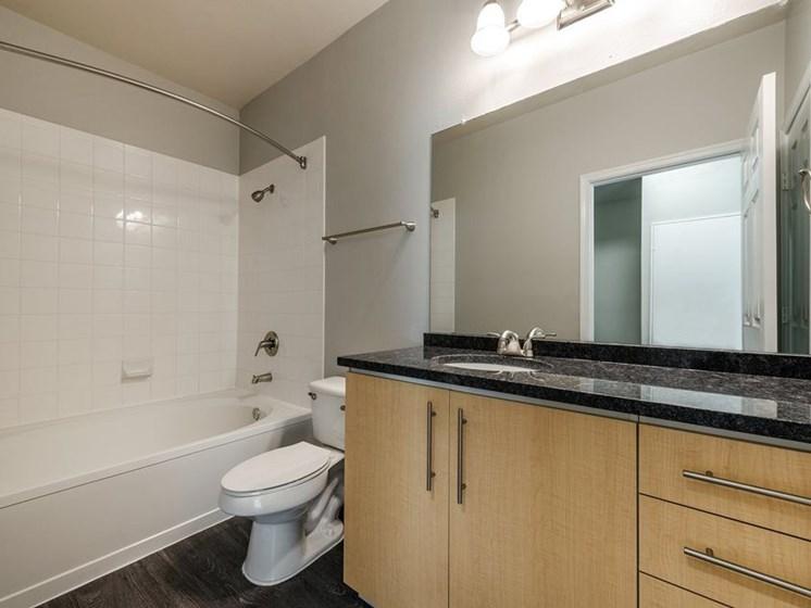 The Ashborough Apartment Bathroom