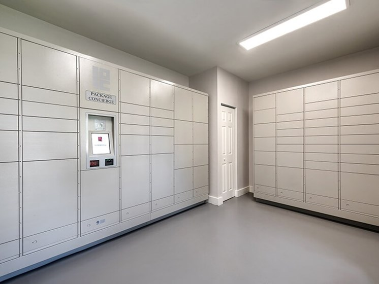 The Ashborough Package Lockers