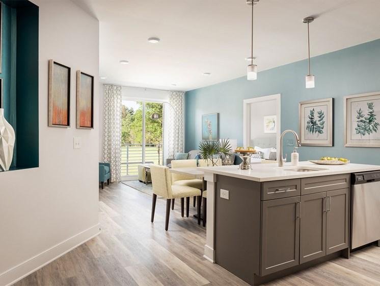 Quin Apartments Kitchen