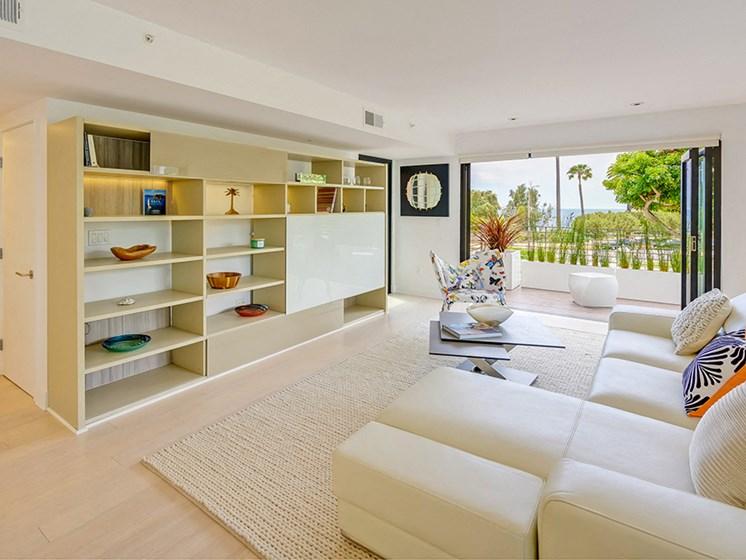 Indoor, Outdoor living at 301 Ocean Apartments in Santa Monica, CA