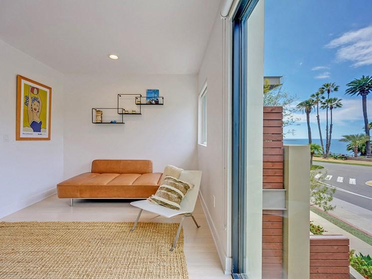 Santa Monica beach views at 301 Ocean Apartments in Santa Monica, CA