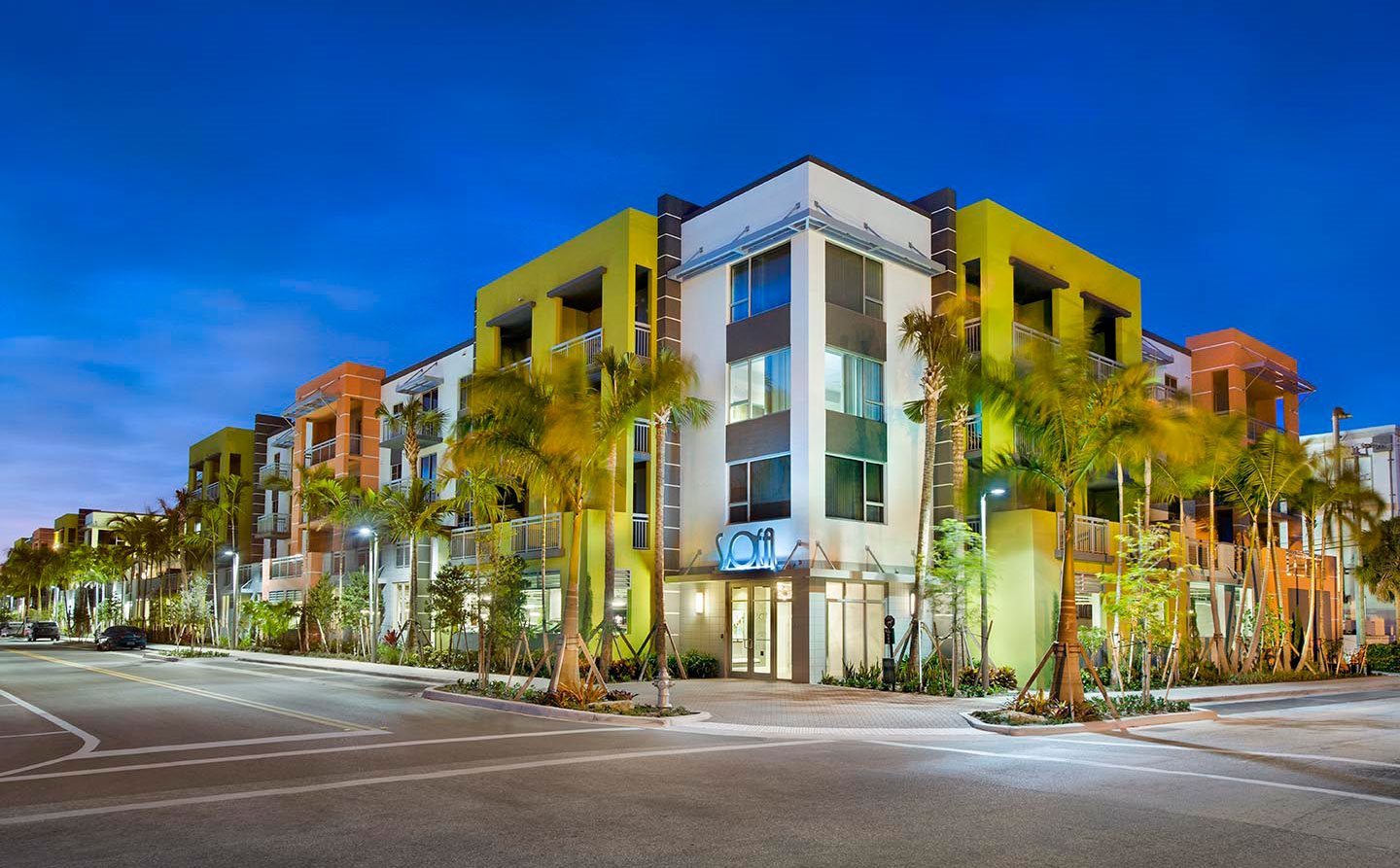 Eye Catching External View Of The Property at SofA Downtown Luxury Apartments, Delray Beach