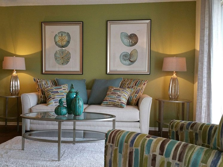 Spacious Living Room   L'Estancia Apartments in Sarasota