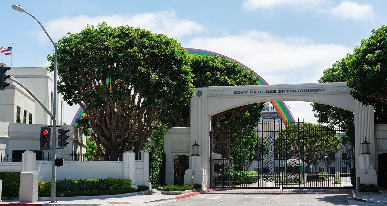 Sony Studios and their historic rainbow