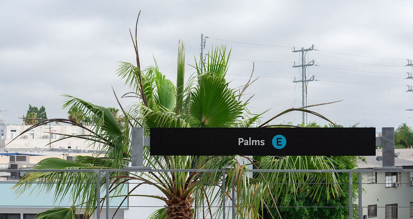 Palms metro stop just a 15 minute walk from Coda